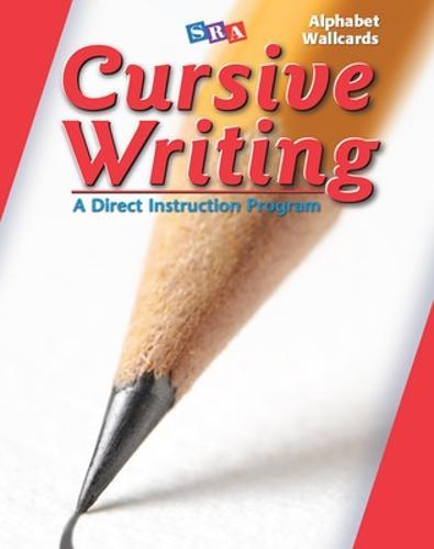 Cursive Writing Program, Alphabet Wall Cards - CURSIVE WRITING (Paperback)