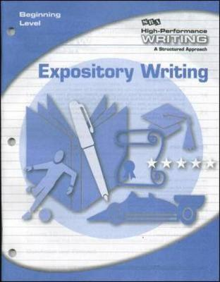 High-Performance Writing Beginning Level, Expository Writing - DODDS WRITING PROGRAM (Book)