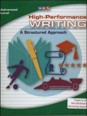 High-Performance Writing Advanced Level, Complete Package - DODDS WRITING PROGRAM (Book)