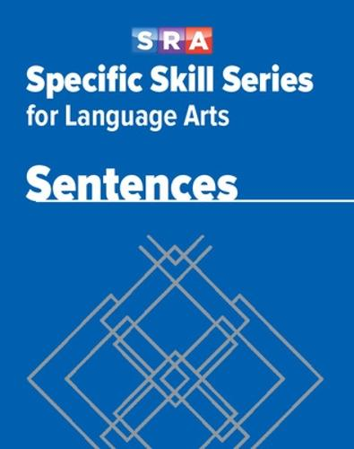 Specific Skill Series for Language Arts - Sentences Book - Level D - SPECIFIC SKILLS LANGUAGE ARTS (Paperback)