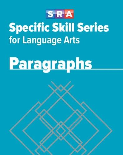Specific Skill Series for Language Arts - Paragraphs Book - Level E - SPECIFIC SKILLS LANGUAGE ARTS (Paperback)