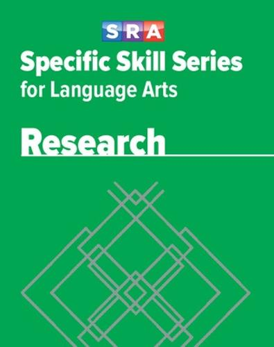 Specific Skill Series for Language Arts - Research Book - Level E - SPECIFIC SKILLS LANGUAGE ARTS (Paperback)
