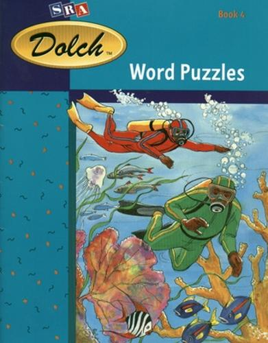 Dolch (R) Word Puzzles, Book 4 (Spirit of Adventure, Fiction, and America's Journey, Fiction) - DOLCH FIRST READING BOOKS