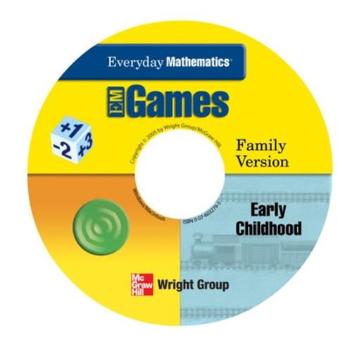 Everyday Mathematics, Grades PK-K, Early Childhood CD Family Games Package - EVERYDAY MATH ONLINE GAMES (CD-ROM)