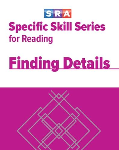 Specific Skill Series, Finding Details Book D - SPECIFIC SKILLS SERIES (Paperback)