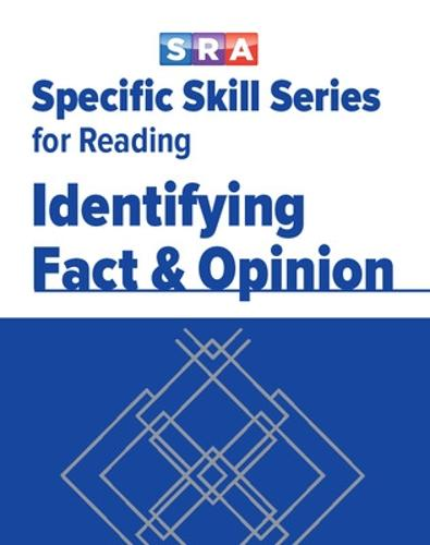 Specific Skills Series, Identifying Fact & Opinion, Book A - SPECIFIC SKILLS SERIES (Paperback)