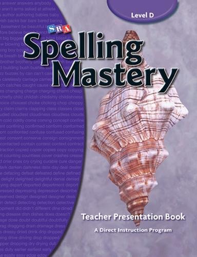 Spelling Mastery Level D, Teacher Materials - SPELLING MASTERY (Paperback)