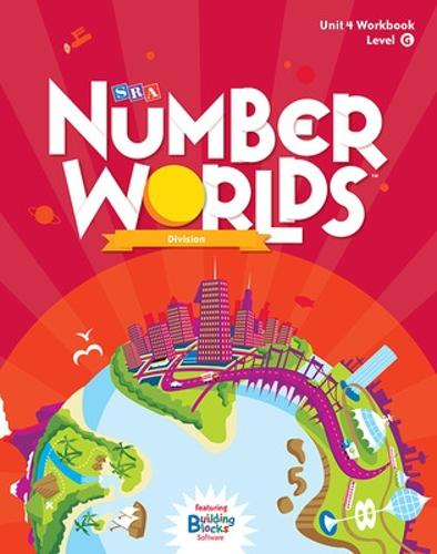 Number Worlds Level G, Student Workbook Division (5 pack) - NUMBER WORLDS 2007 & 2008 (Book)