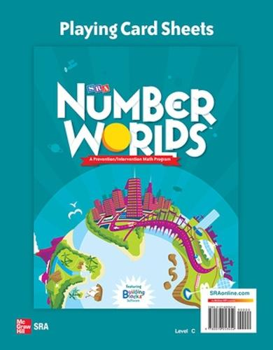 Number Worlds Level C, Playing Card Sheets - NUMBER WORLDS 2007 & 2008 (Spiral bound)