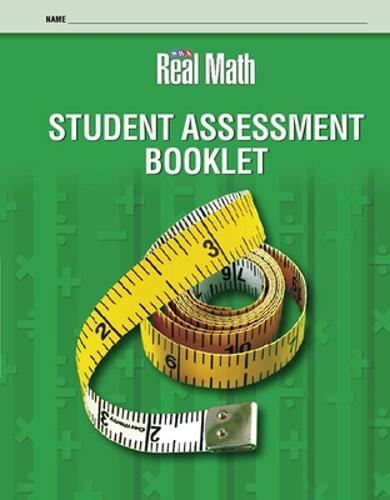 Real Math Student Assessment Booklet - Grade 2 - SRA REAL MATH (Board book)