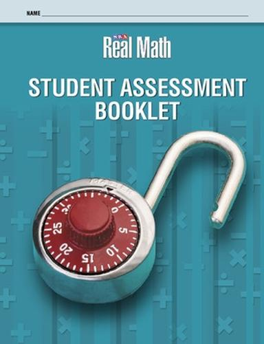 Real Math - Student Assessment Booklet - Grade 5 - SRA REAL MATH (Board book)