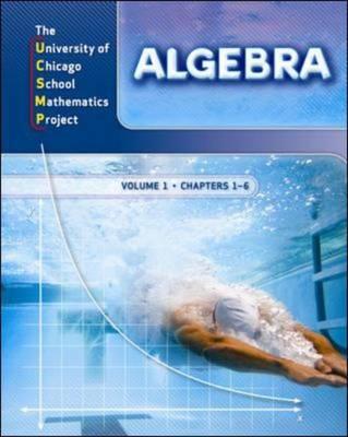 Algebra: Student Edition Volume 1 - UCSMP TRANSITION MATHEMATICS (Paperback)