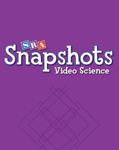 SRA Snapshots Video Science DVD Set, Level A - SNAPSHOTS VIDEO SCIENCE (Book)