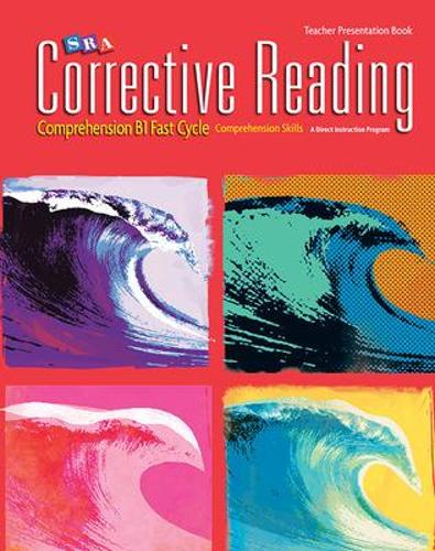 Corrective Reading Fast Cycle B1, Presentation Book - CORRECTIVE READING DECODING SERIES (Paperback)
