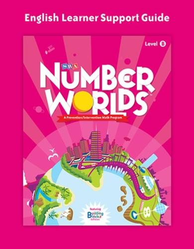 Number Worlds Level B, English Learner Support Guide - NUMBER WORLDS 2007 & 2008 (Book)