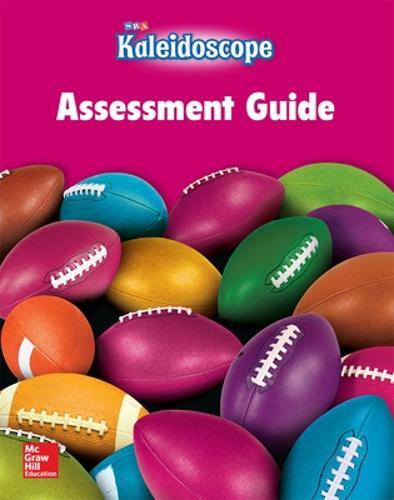 Kaleidoscope, Assessment Workbook, Level G - KALEIDOSCOPE (Paperback)