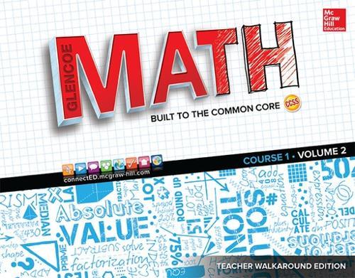 Glencoe Math, Course 1, Teacher Walkaround Edition, Volume 2 - MATH APPLIC & CONN CRSE (Spiral bound)
