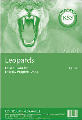 Leopards Lesson Plans for Progress Units - KS3 - Wildcats (Paperback)