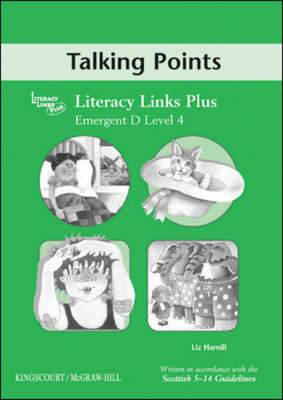 Emergent D (level 4) Talking Points, Teacher's Notes for Literacy Links Plus - B04 (Paperback)