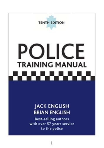 Police Training Manual, 10/e (Paperback)