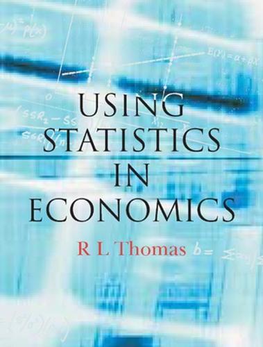 Using Statistics in Economics (Paperback)