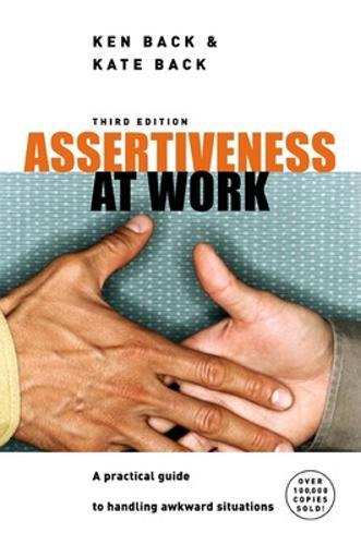Assertiveness At Work (Paperback)