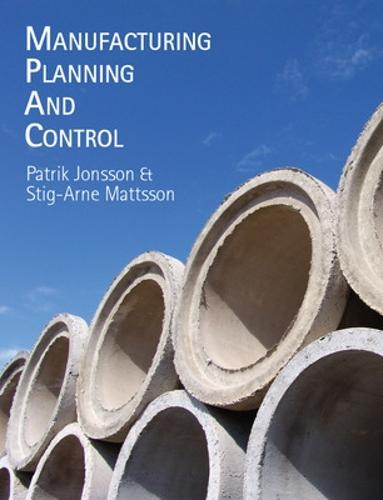 Manufacturing Planning and Control (Paperback)