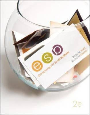 Entrepreneurial Small Business: AND BusinessWeek Sub Card (Hardback)