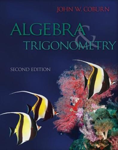 Algebra & Trigonometry (Hardback)
