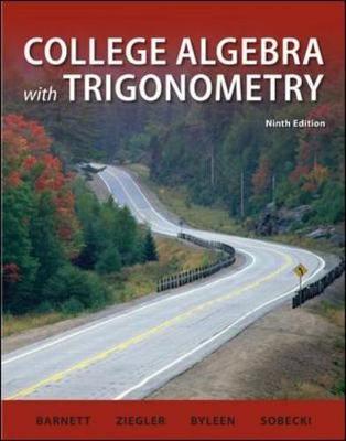 College Algebra with Trigonometry (Hardback)
