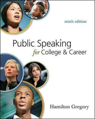 Public Speaking for College and Career with Connect Access Card Public Speaking (Paperback)