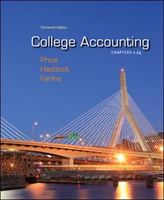 College Accounting (Chapters 1-24) (Hardback)