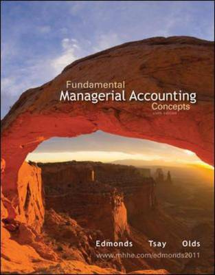 Fundamental Managerial Accounting Concepts with Connect Plus (Hardback)