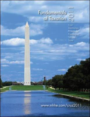 Fundamentals of Taxation, 2011 with Tax Act Software