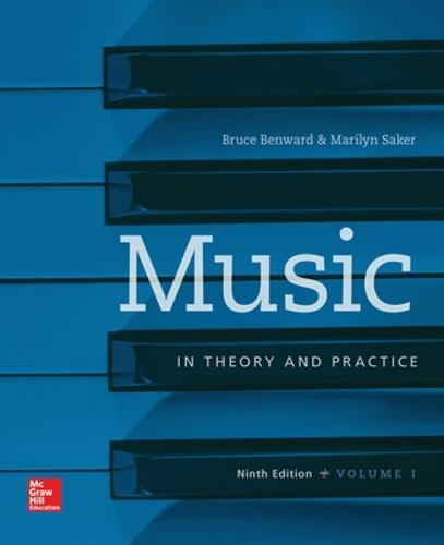 Workbook t/a Music in Theory and Practice, Volume I (Spiral bound)