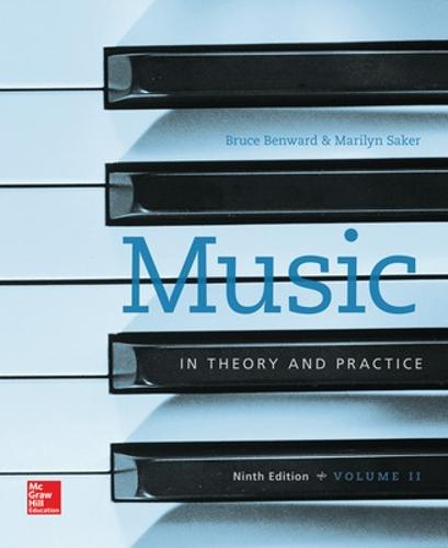 Workbook to accompany Music in Theory and Practice, Volume 2 (Paperback)