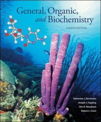 Student Study Guide/Solutions Manual for General, Organic, and Biochemistry (Paperback)