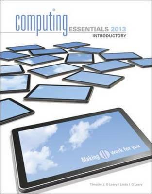 Computing Essentials 2013 (Paperback)