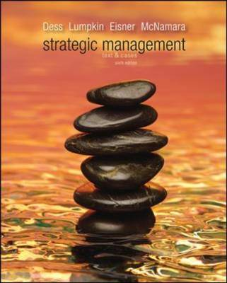 Strategic Management: Text and Cases with Comp Case Guide for Instructors (Hardback)