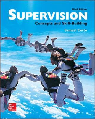 Supervision: Concepts and Skill-Building (Paperback)