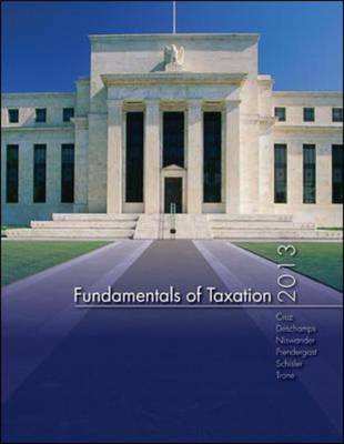 MP Fundamentals of Taxation with TaxAct Software 2013 (Paperback)