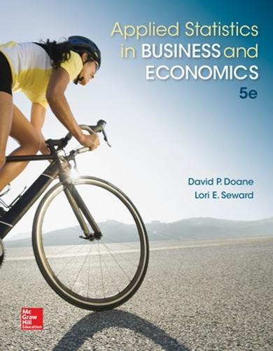 Applied Statistics in Business and Economics (Hardback)