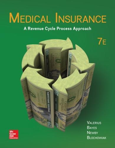 Medical Insurance: A Revenue Cycle Process Approach (Paperback)
