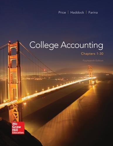 College Accounting ( Chapters 1-30) (Hardback)