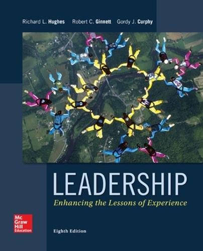 Leadership: Enhancing the Lessons of Experience (Hardback)