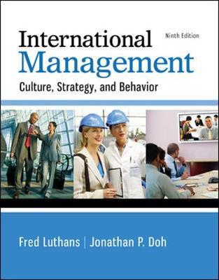 International Management: Culture, Strategy, and Behavior (Hardback)