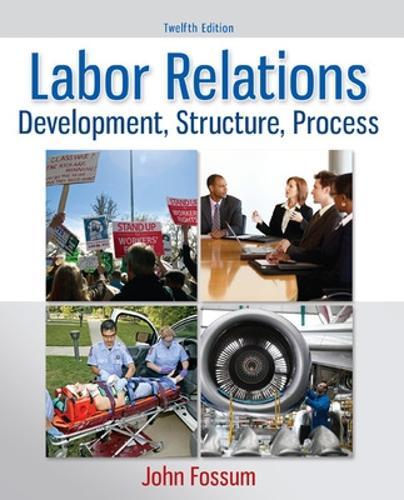 Labor Relations (Hardback)