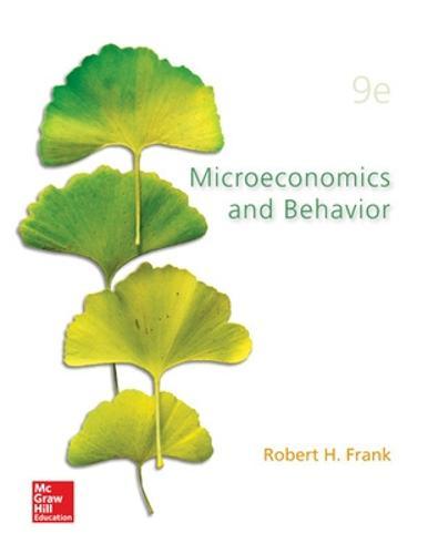 Microeconomics and Behavior (Hardback)