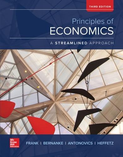 Principles of Economics, A Streamlined Approach (Hardback)