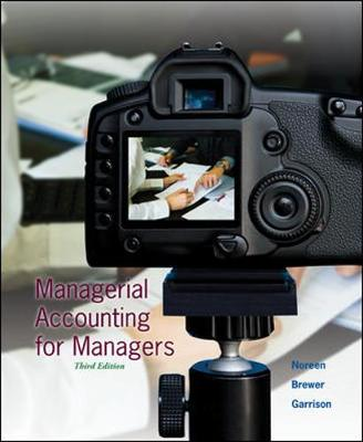 Managerial Accounting for Managers (Hardback)